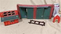 Happi Time cardboard barn and building set