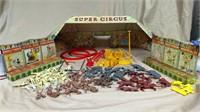 Marx Toys Super Circus Playset