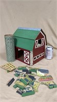Wooden Barn Set With Accessories