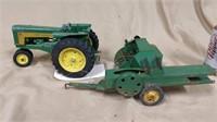 John Deere Tractor w/3 point & Baler **