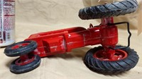 Plastic IH Farmall Tractor with Box **