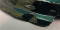 FENT. CELESTE BLUE #604 PUNCH BOWL & BASE