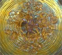 N'Wood Pastel Marigold Rose Show Plate