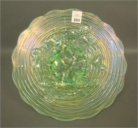 N'Wood Ice Green Rose Show Plate