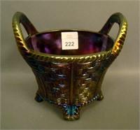 N'Wood Smoke Round Bushel Basket