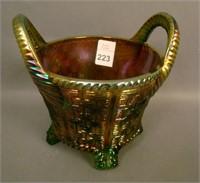 N'Wood Green Round Bushel Basket