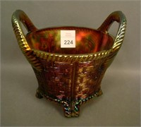 N'Wood Amethyst Round Bushel Basket