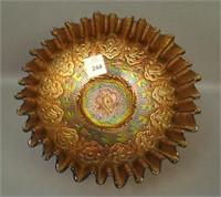 Fenton Amethyst Persian Medallion CRE Bowl