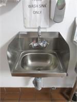 "Atlanta Culinary 16"" S/S Hand Sink"