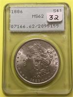Hoagland Coin Auction - Near Complete Morgan Collection