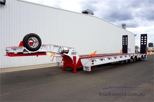 2020 FWR Quad Axle 3.5m Widening Low Loader - Trailers for Sale
