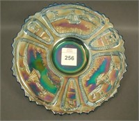 "Fenton Blue Sailboats 6 1/2"" Plate"