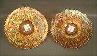 Pair of Two Fenton Pinecone Plates