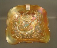 M'Burg Marigold Trout & Fly 4 Sided Square Bowl