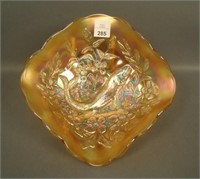 M'Burg Marigold Trout & Fly Diamond Shape Bowl