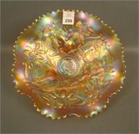 N'Wood Marigold Wishbone Ftd Bowl