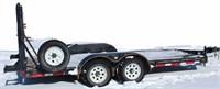 "2006 Superior FB Trlr, bumper-pull, 2 -6k axles, 16'x81"", rear ramps (view 1)"