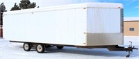 2005 Charmac ATV/Snomobile Trailer, 8 ½'x27', 2-axle, bumper-pull, fold down ramps on rear and front side (view 1)