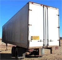 Fruehauf, 40', mdl FB9-F2-40 w/barn doors (view 2)