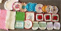 Crocheted Hot Pads/Pot Holders