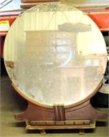 Round Mirror (goes w/vintage dresser)