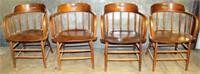 4- HD Wood Kitchen Chairs