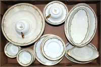 Old Abbey China Pcs from France (view 1)