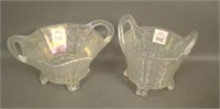 Two N'Wood White Bushel Baskets