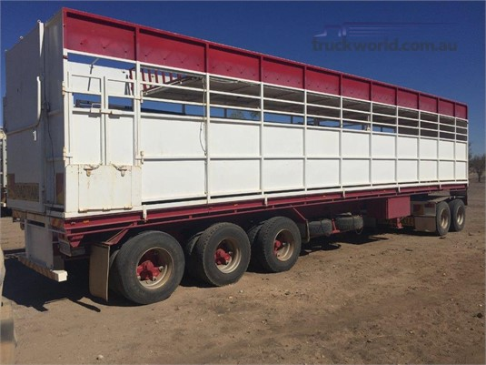 1984 Loadmaster Stock Crate Trailer - Trailers for Sale