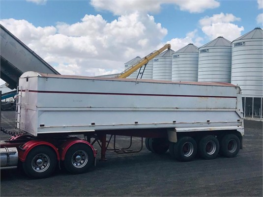 1988 Lusty Tipper Trailer - Trailers for Sale
