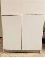 (1) 2-Door Cabinet  ($25 Reserve)