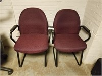 (48) Maroon Chairs  ($15 Reserve)