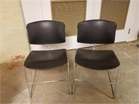 (51) Stackable Chairs ($10 Reserve)