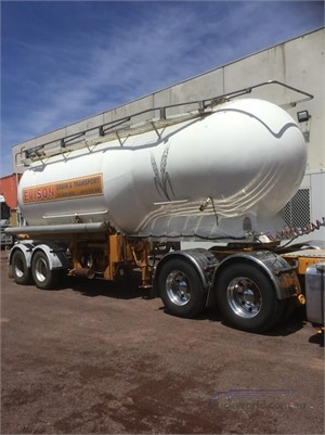 1986 Kockums Tanker Trailer Hume Highway Truck Sales - Trailers for Sale