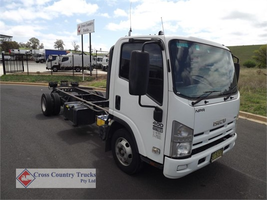 2012 Isuzu NPR400 Cross Country Trucks Pty Ltd - Trucks for Sale