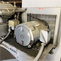 Ingersoll-Rand Upright Air Compressor WORKS