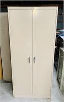 2 Door Metal Cabinet, Republic Steel Corp