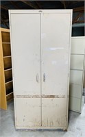2 Door Metal Cabinet, Republic Steel Corp