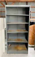 Metal Cabinet w/ 4 Shelves
