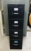 Hon Metal 4 Drawer Filing Cabinet, nice
