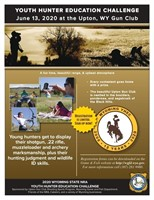 Wyoming Youth Hunter Education Challenge Big Game License