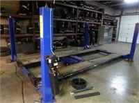 Hunter DSP 400 alignment rack