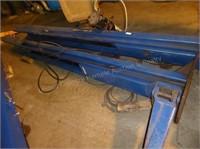 Rotary 9000lb 2 post hoist (now disassembled)