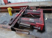 Hunter drive on rack (now disassembled)