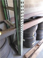 4 sections industrial racks (used for tire racks)