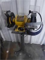 """DeWalt 8"""" grinder w/ stand - in body shop"""