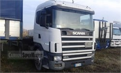 SCANIA R124L420  used