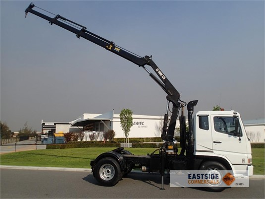 2001 Mitsubishi Fuso FP547G2W Eastside Commercials - Trucks for Sale
