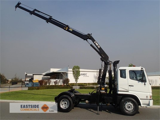 2001 Mitsubishi Fuso FP547G2W Eastside Commercials - Trucks for Sale