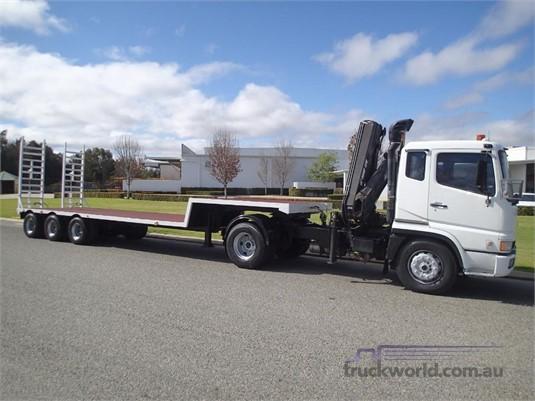 2001 Mitsubishi Fuso FP547G2W - Trucks for Sale